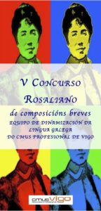Cartel do concurso rosaliano